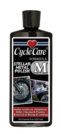Cycle Care Formulas Formula M Aluminum/Chrome Polish - 8oz. 55008 LEPAZA1159
