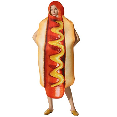 EraSpooky Halloween Hot Dog Costume Footlong