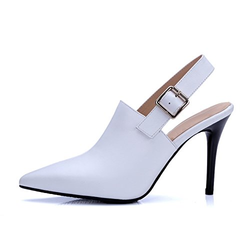 Adee, Sandali donna, bianco (White), 35.5