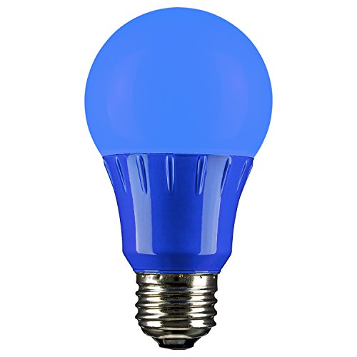 bright blue light bulb - 1