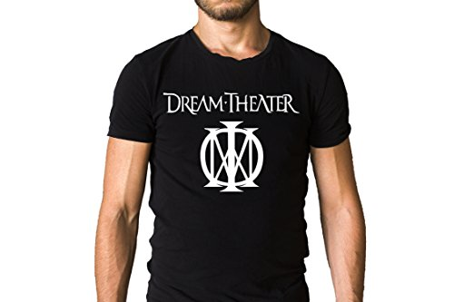 Dream Theater Majesty Metal Band Logo T-Shirt - Progressive Rock, Progressive Metal (XL) - Band Logo Mens T-shirt