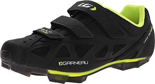 - Louis Garneau Multi Air Flex Men's Cycling Shoe: Black/Bright Yellow 44