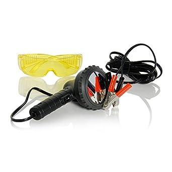 Neu Uv Lecksuch Lampe Betriebsspannung 12v Direct An Der Autobatterie Brille Amazon De Alle Produkte