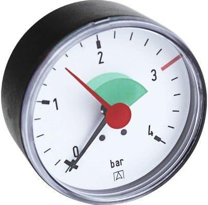 Afriso Heizungsmanometer Axial 63 Mm 3 0 Bar 122170 Baumarkt
