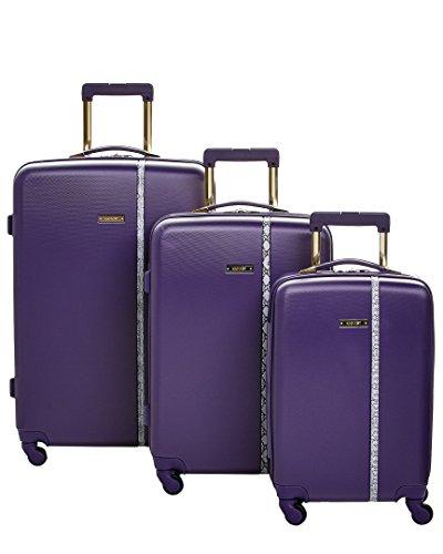 ninewest-nine-west-noelle-3-piece-hardside-smokey-purple