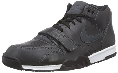Chaussures Anthrct blk Air lsr Multicolore Homme Sport Nike 1 Mid Anthrct Orng de Trainer wpnfUZ