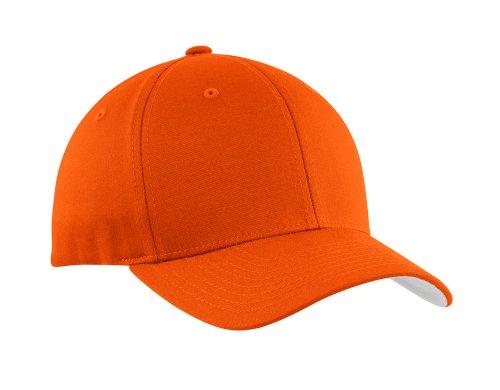 Flexfit Baseball Caps in 12 Colors. Sizes S/M - L/XL Orange