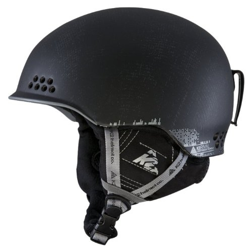 K2 Rival Helmet (Black, Large/X-Large), Outdoor Stuffs