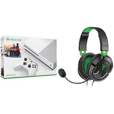Amazon.com: Xbox One S 500GB Console – Battlefield 1