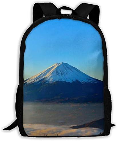 富士山 ふじさん4 メンズ レディース 兼用 アウトドア ・旅行に最適 ナップサック 収納バッグ 軽量 登山 自転車 防水仕様 通学・通勤バッグ スポーツ 巾着袋 ジムサック 収納バッグ バッグ プレゼント
