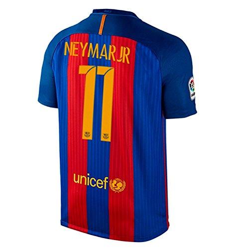 Maglia da calcio Nike Neymar Jr # 11 FC Barcelona Home 2016/17 (L)