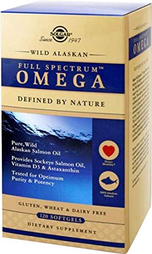 (Solgar Wild Alaskan Full Spectrum™ Omega, Tested for Optimum Purity & Potency, Non-GMO, 120 Softgels)