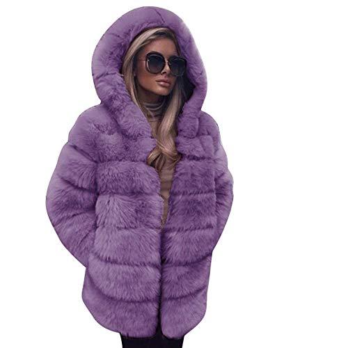 Cappotto Inverno Giacca Lusso Faux Cute Sintetica Cappuccio Pu1 Pelliccia Allentato Chic Di Donna Con Volpe Parka Caldo Elegante Autunno 5qITwnw7fW