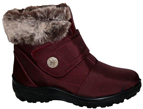 color Botas Tex invierno para de marr Cushion Thermo mujer Walk gax8BB