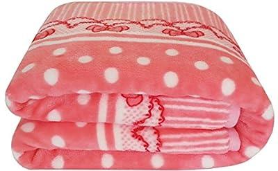 Pink Lightweight Baby Girl Fleece Blanket from VIP Fleece