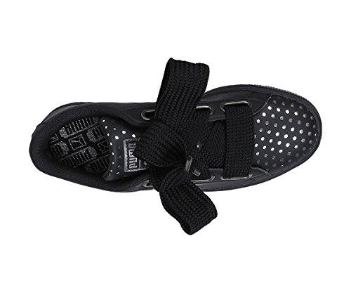 Sneakers black Puma 36672803 Lux Nero Heart Scarpe Basket Ath Donna 4z5zq