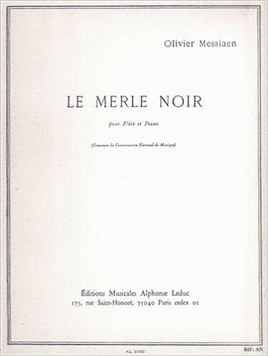 MERLE NOIR FLUTE ET PIANO epub pdf