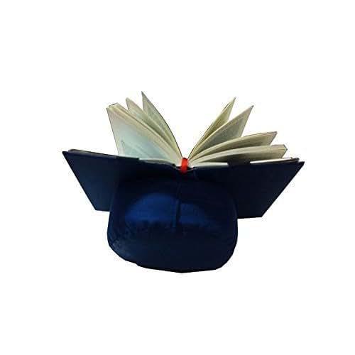 Almohadón de lectura azul / Atril para leer en la cama o