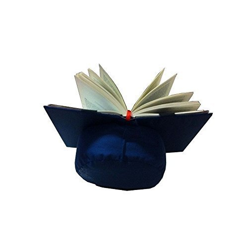 Almohadón de lectura azul / Atril para leer en la cama o ...