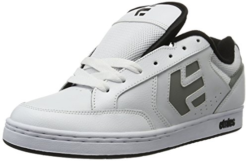 Etnies Swivel, Color: White/Grey/Black, Size: 38 EU (6 US / 5 UK)