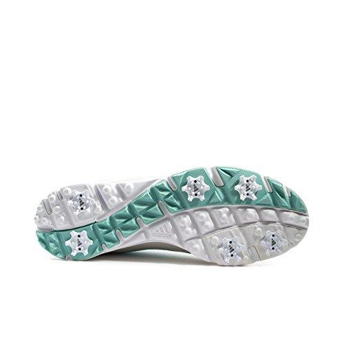 adidas W Adizero Tour III–Zapatillas para mujer–Gris/Blanco/Azul