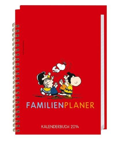 Peanuts Familienplaner Buch 2014