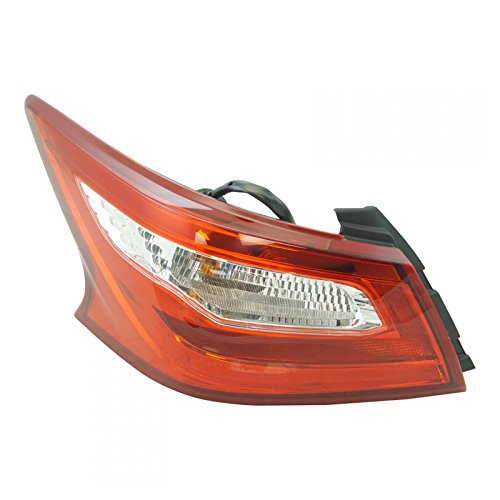 Rear Outer Taillight Tail Light Lamp Driver Side LH LR for Nissan Altima ()