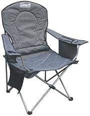 Coleman Quad Deluxe Cooler Chair, Grey