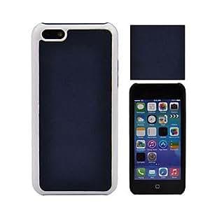 Bkjhkjy Angibabe PU+PC Back Case for iPhone 5C , Blue