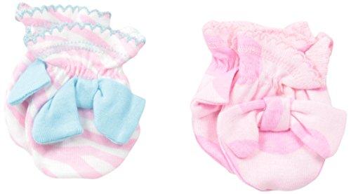 UPC 047213818589, Gerber Baby-Girls Newborn 2 Pack Mittens Bows, Pink, 0-3 Months