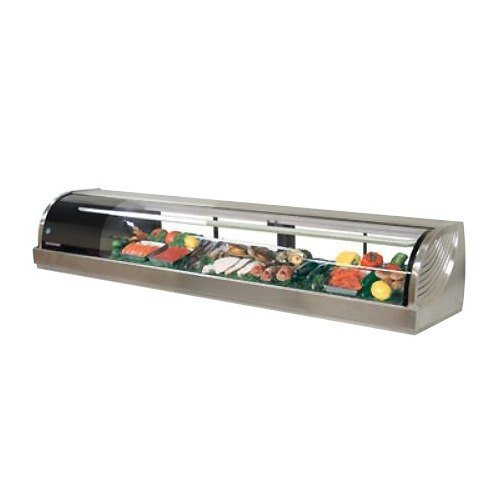 (Hoshizaki HNC-150BA-L-SL Display Case Refrigerated Countertop 59.1