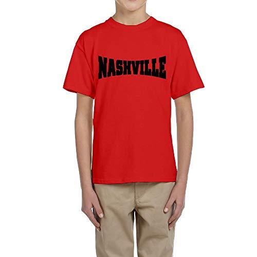 LingBer Youth Nashville Kids Girls Boys T-Shirt