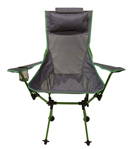 Koala Seat - TravelChair Koala Chair, Takes Camping Comfort to a Whole New Level, Green