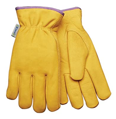 Kinco 98RLW Women's Top-grain Cowhide Leather Ranch and Work Glove with Thermal Lining
