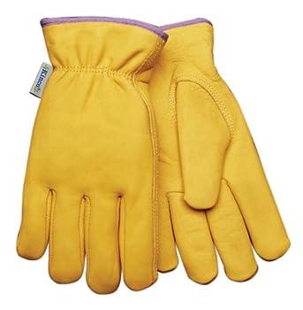 Kinco 035117986152 Women's Grain Cowhide Lined Work Gloves, Large