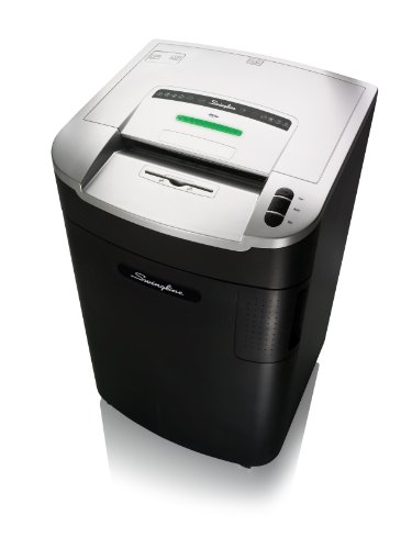Swingline Paper Shredder, Jam Free, 12 Sheet Capacity, Micro-Cut, 20+ Users, LM12-30 (1770055) by Swingline