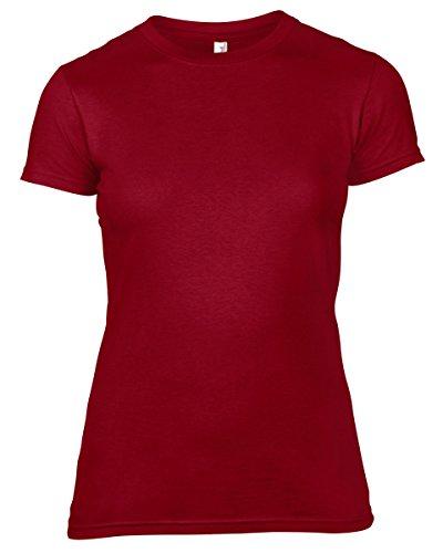 Anvil - Camiseta - para mujer Independencia Rojo