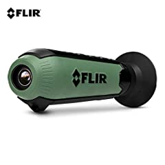 The FLIR Scout TK is a pocket-sized thermal vision monocular for exploring the outdoors—at night and in lowlight conditions. Scout TK reveals your surroundings and helps you see people, objects and animals over 100 yards (90 m) away. Simple ...