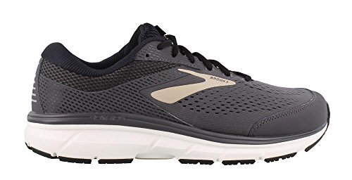 Brooks Dyad 10, Chaussures de Running Homme Grigio (Grey/Black/Tan 082)