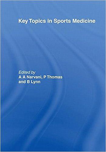 Book Key Topics in Sports Medicine (Key Topics Series)