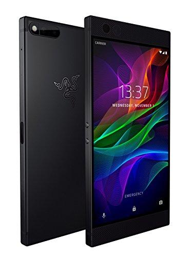 Razer Phone - 120 Hz Ultra Motion Display - 64GB Memory - 8GB RAM - Dual Camera - Dual Front-Facing Speakers - Black