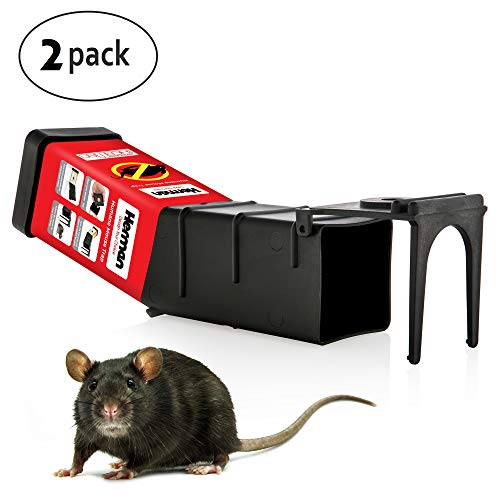 JAKOP Innovations Tip Trap Mouse Trap  Ultimate Humane Mouse & Rat Trap 100% Effective, Non-Toxic & User-Friendly Trap for Mice, Rats & Rodents   Weather-Resistant & Sturdy  Pet-Safe & Kid-Safe Design