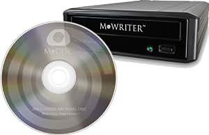 Millenniata Starter Kit - M-WRITER & M-DISC 25 Pack (Ink-Jet Printable)