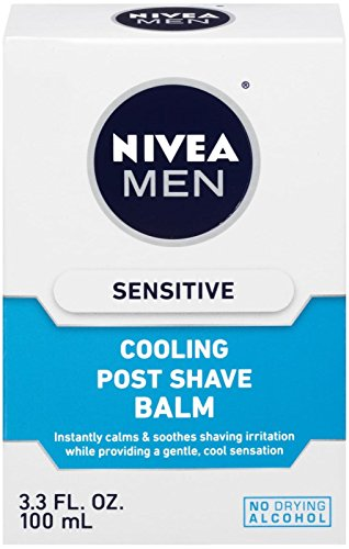 Nivea For Men Sensitive Cooling Post Shave Balm - 3.3 oz