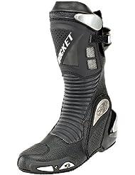 Joe Rocket Speedmaster 3.0 Mens Leather Race Boots (Black, Size 10)