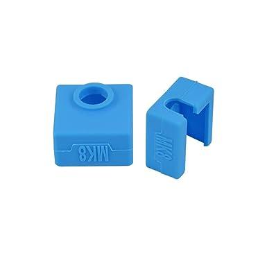 SOOWAY Impresora 3D Bloque de cubierta de silicona MK7 / MK8 / MK9 ...
