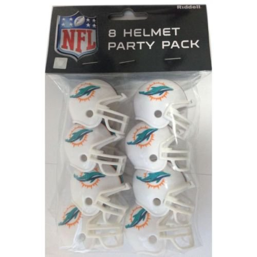 - Riddell 9585533017 Miami Dolphins Team Helmet Party Pack