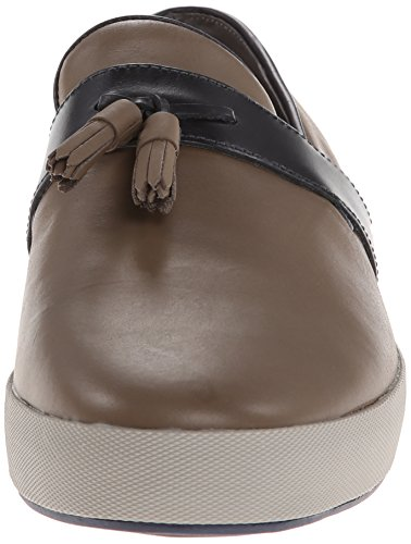 Tsubo Mens Achar Slip-on Mocassino Elefante