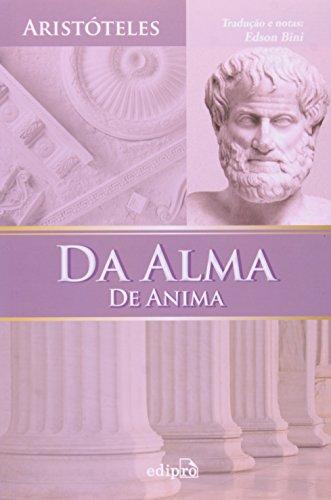 Da Alma. De Anima