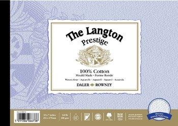 Daler-Rowney The Langton Prestige Rough Grain Torchon Watercolour Pad 20x14